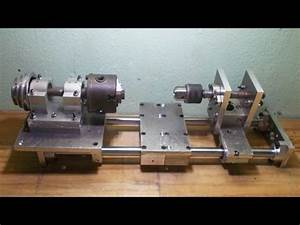 Diy Axis Tailstock Lathe Mini Lathe Homemade Lathe Machine