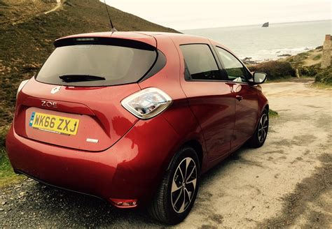 test drive new renault zoe ev business cornwall