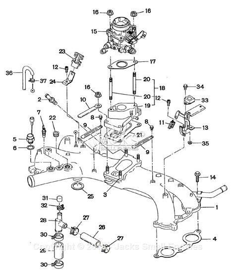 Subaru Intake Manifold Diagram robin subaru ew180 3 parts diagram for intake manifold