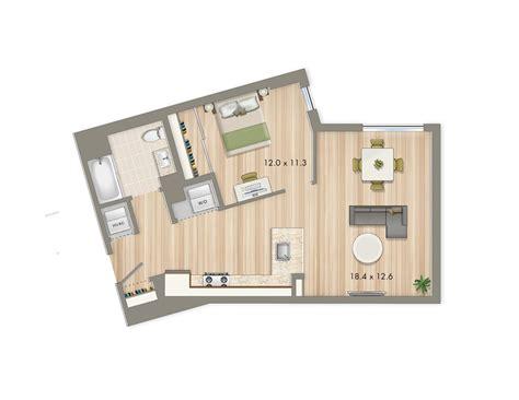 Park Chelsea Floor Plan Release One Bedroom  The Collective