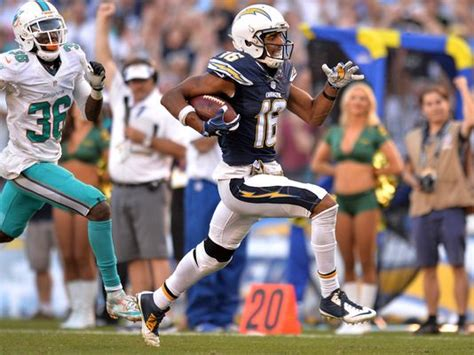 Chargers Wide Receiver Williams Finalist