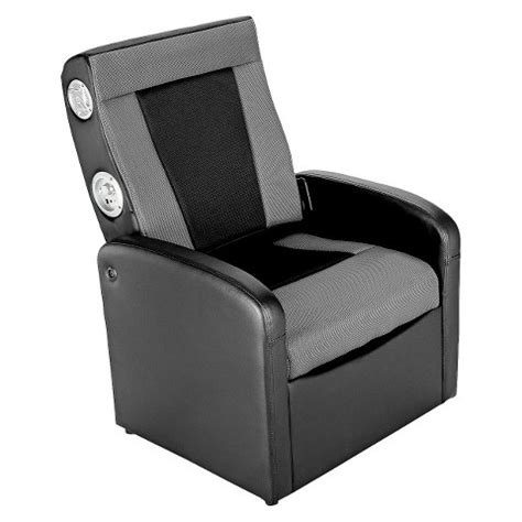 ace bayou x rocker gaming chair black grey target