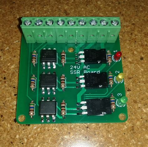 Makeatronics Solid State Relay Board