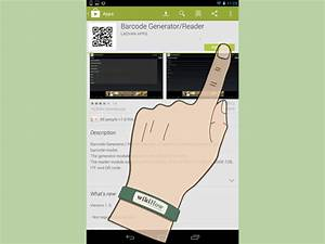 Barcode Erstellen App : barcodes mit einem android telefon erstellen wikihow ~ Markanthonyermac.com Haus und Dekorationen