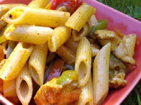 salade de pates poulet curry recettes de salade de p 226 tes et curry