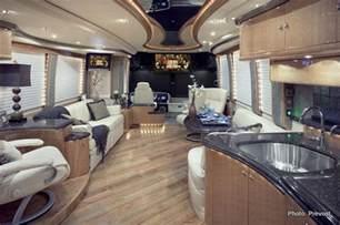 Prevost Luxury Motorhomes Interior