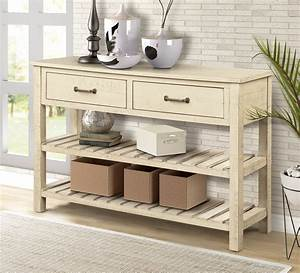 Console, Tables, For, Entryway, Stylish, Solid, Wood, Entryway, Table, With, Drawer, Modern, Design