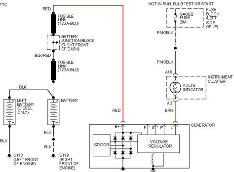 Alternator Wiring Diagram For 1990 Chevy Truck by 1988 Chevy Truck Alternator Wiring Wiring Library