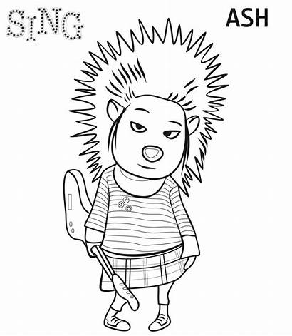 Coloring Pages Sing Popular