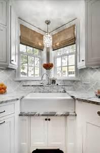 Corner Sink - Transitional - kitchen - Great Neighborhood