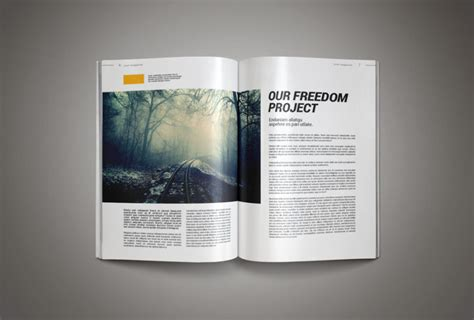 Magazine Template Professional Magazine Template Inkdesign Age Themes