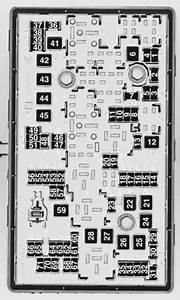 Chevrolet Orlando  2012 - 2014  - Fuse Box Diagram
