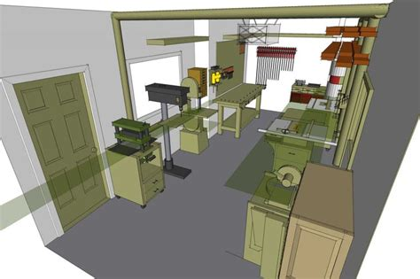 woodshop ideas pinterest house plans