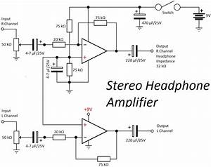 op amp headphone amplifier circuit With single opamp difference amplifier circuit diagram tradeoficcom