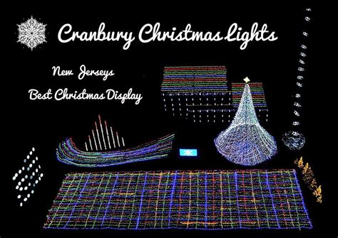 south jersey christmas light displays cranbury lights is new jersey s number one