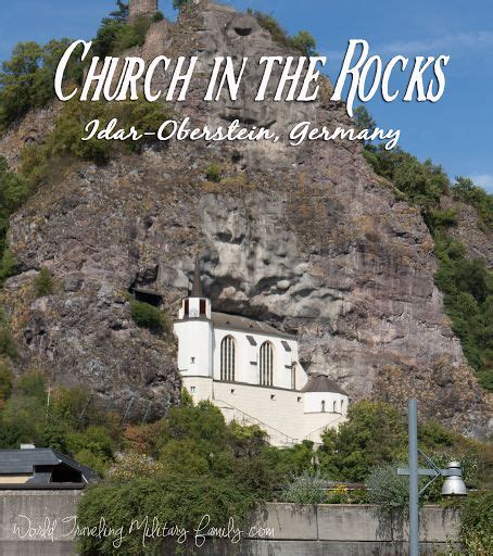 church   rocks idar oberstein germany  hour