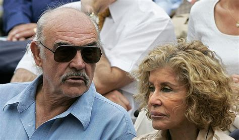 Micheline Connery (micheline Roquebrune)- Sir Sean Connery
