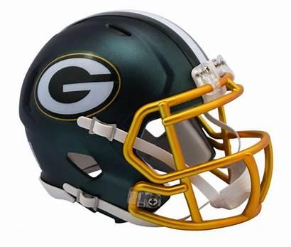 Packers Helmet Bay Football Nfl Blaze Riddell