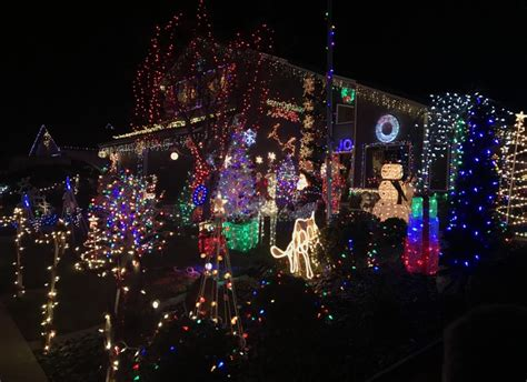 best christmas light displays best christmas lights displays in northern california