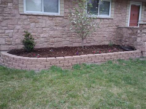 low retaining wall plesons retaining walls st louis area