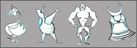 yolantele character design lecture  shapes  design