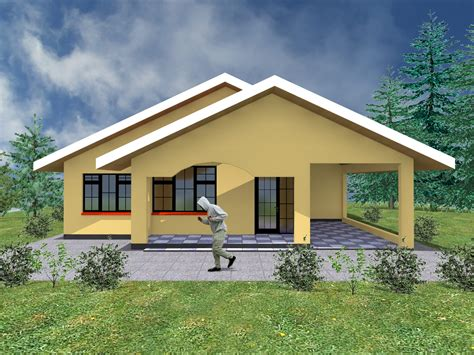 simple  bedroom house plans  garage hpd consult
