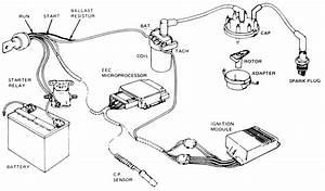 Diagrams Wiring   1965 Mustang Distributor Wiring