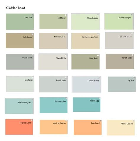 prospective interior colors freom glidden consumer
