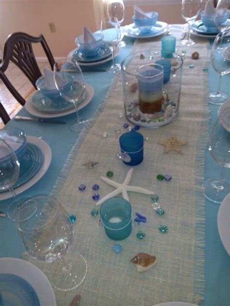 beach theme engagement party coastal decorating ideas