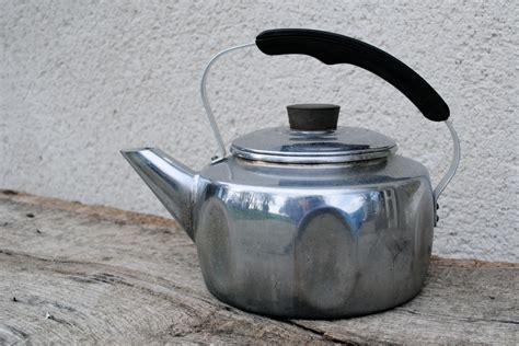 stove kettle kettles copper darty pike 1960 chrome bottom
