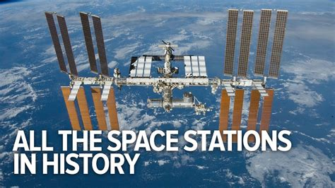 All The Space Stations In History Youtube