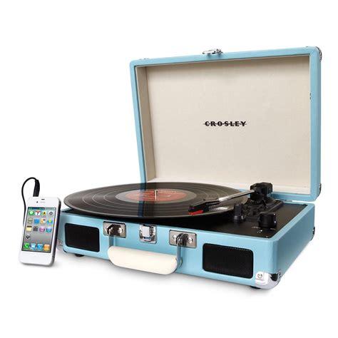 Buy Crosley Cruiser Deluxe Turntable Turquoise | Rockit ...