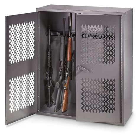 Weapons Cabinet by Hq Issue Metal Gun Locker 36 Quot X 42 Quot 269 99 Free S H