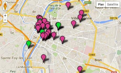 Carte Prostituée by Dans Le Grand Lyon Cartographie Des Crocodiles Rue89lyon