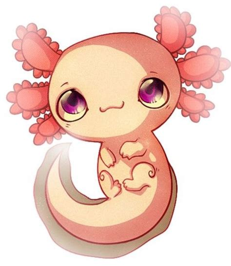 cute cartoon axolotl cute pinterest cute cartoon