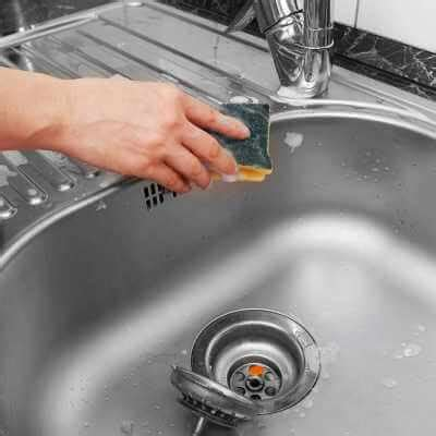 how to remove limescale from kitchen sink how to clean a sink sons 9557