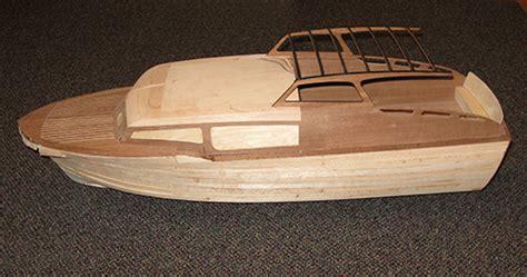 cutting custom rc boat parts laser engraver chris craft