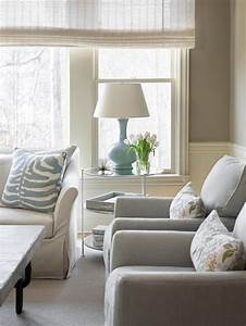 Pale Blue Accents Add Soft Pretty Touches Of Color To