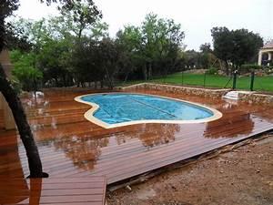 plage piscines ambiance bois var pose parquet var sppr With parquet piscine