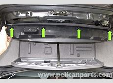 BMW E39 5Series Trunk Release Button Replacement 1997