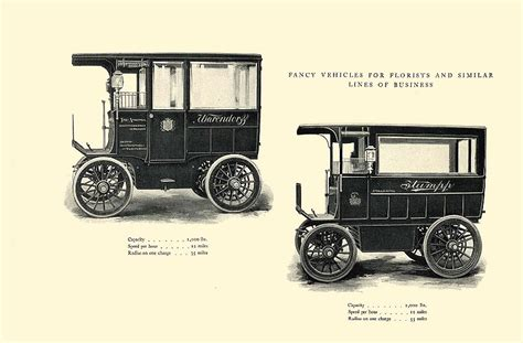 Electric Automobiles For Sale by 1903 The Vehicle Equipment Co Electric Vehicles High