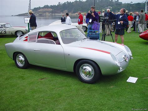 Fiat Abarth Zagato by 1956 Fiat Abarth 750 Gt Zagato Supercars Net