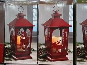 Decorative, Lantern, With, Flickering, Led, Candle