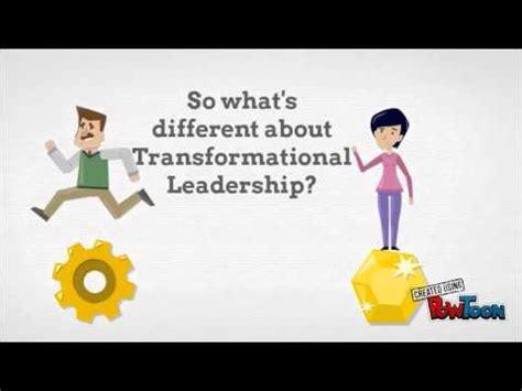 transactional  transformational leadership theory youtube