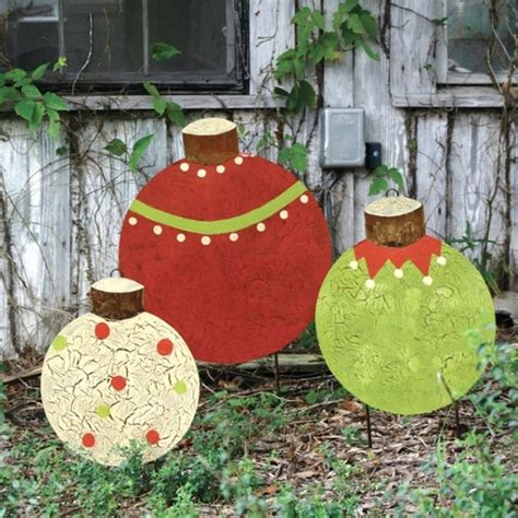 how to make christmas yard decorations christmas wooden yard decorations designcorner
