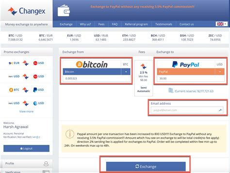 The convert and over the counter (otc) trading is an emerging method of changing bitcoin into cash by simply converting it into any supported fiat currency of choice. How To Sell Bitcoin for PayPal - Convert your Bitcoins to ...