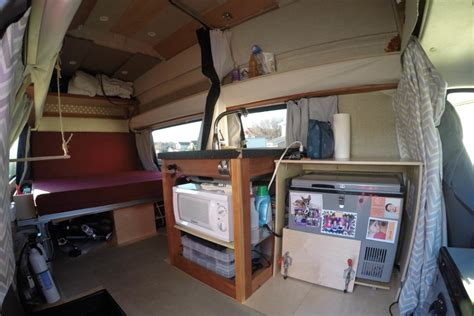 Super Small Kitchen Ideas - gypsy my super awesome cer van conversion defying normal