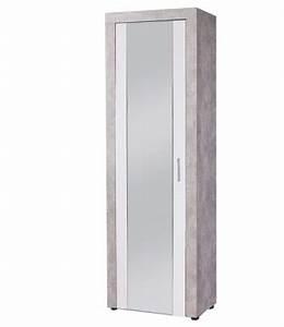 Meuble Chaussure Gris : meuble a chaussures gris clair blanc ~ Teatrodelosmanantiales.com Idées de Décoration