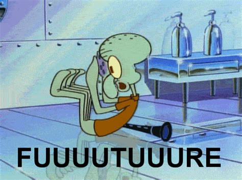 Squidward Future Meme - moses guy i have become squidward
