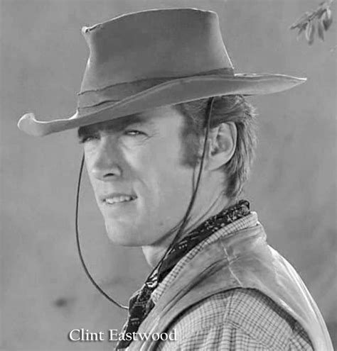 Clint Eastwood Westerns Actor